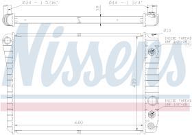 NISSENS 60924 - RADIADOR CHEVROLET CORVETTE(C4)(84-