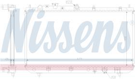 NISSENS 62456A - RADIADOR MAZDA 323 VIII(BJ)(98-)2.0