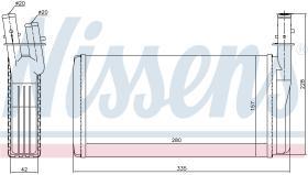 NISSENS 70016 - SECADOR LANCIA KAPPA(838)(94-)2.0 I