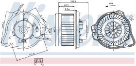 NISSENS 87020 - VENTILADOR VOLVO XC 70(98-)2.0 T