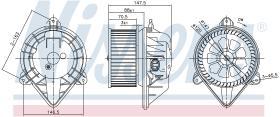 NISSENS 87024 - VENTILADOR NISSAN INTERSTAR(X70)(02