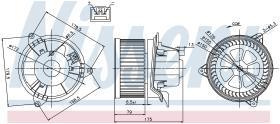 NISSENS 87027 - VENTILADOR FORD MONDEO III(GE)(00-)