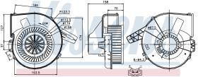 NISSENS 87028 - VENTILADOR SKODA PRAKTIK(5J)(06-)1.
