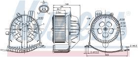 NISSENS 87038 - VENTILADOR RENAULT SCENIC II(03-)2.