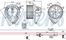 NISSENS 87039 - VENTILADOR VOLKSWAGEN LT(2D)(96-)2.