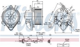 NISSENS 87042 - VENTILADOR CITROEN XSARA(N0,N1,N2)(