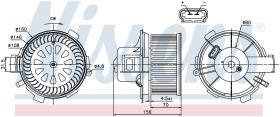 NISSENS 87045 - VENTILADOR CITROEN XSARA PICASSO(N6