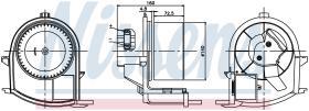 NISSENS 87047 - VENTILADOR RENAULT CLIO II(01-)1.5