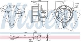 NISSENS 87048 - VENTILADOR CITROEN ZX(N2)(91-)2.0 I