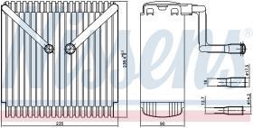 NISSENS 92015 - FIAT TIPO 93-