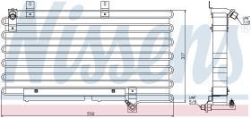 NISSENS 94000 - CONDENSADOR AUDI 100(C3)(82-)2.2