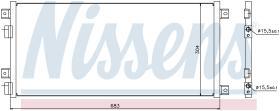 NISSENS 940004 - CONDENSADOR IVECO DAILY III(99-)29L