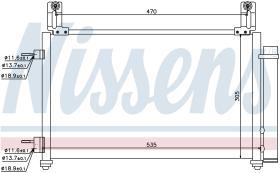 NISSENS 940009 - CONDENSADOR CHEVROLET MATIZ(M200,M2