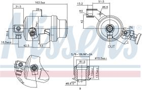 NISSENS 95023 - RECEIVER DRYER MERCEDES E-CLASS W 1