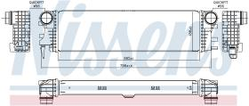 NISSENS 96017 - INTERCOOLER MERCEDES VITO III W 447