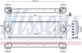 NISSENS 96066 - INTERCOOLER FORD TRANSIT(TT9)(06-)3