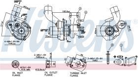 NISSENS 93020 - TURBO OPEL MOVANO A(98-)2.5 DTI