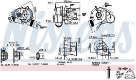 NISSENS 93021 - TURBO SEAT EXEO(3R)(09-)1.8 TSI