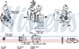 NISSENS 93026 - TURBO VOLKSWAGEN TRANSPORTER T4(70X