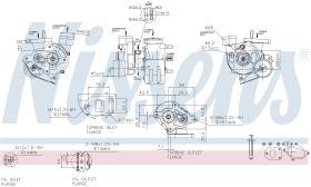 NISSENS 93027 - TURBO VOLKSWAGEN LT(2D)(96-)2.5 TDI