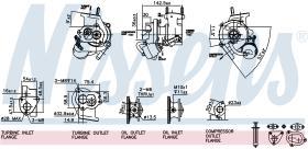 NISSENS 93030 - TURBO VAUXHALL CORSA D(06-)1.3 DTI