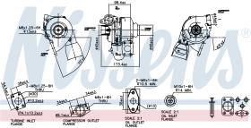 NISSENS 93037 - TURBO VOLVO V50(MW)(04-)1.6 D