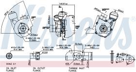 NISSENS 93039 - TURBO KIA CERATO(LD)(04-)1.5 CRDI