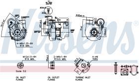 NISSENS 93041 - TURBO CITROEN RELAY(230)(94-)2.8 HD