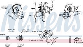 NISSENS 93051 - TURBO MERCEDES SPRINTER W 901-905(9