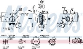 NISSENS 93053 - TURBO VOLKSWAGEN LT(2D)(96-)2.5 TDI