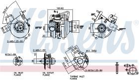 NISSENS 93055 - TURBO FORD RANGER(ER,EQ)(98-)2.8 TD
