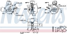NISSENS 93056 - TURBO NISSAN NAVARA II(D40)(05-)2.5