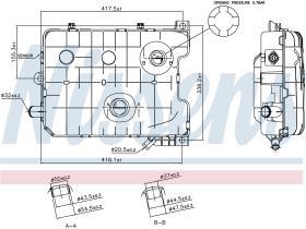 NISSENS 996021 - VASO DE EXPANSION SCANIA G-SERIES(0