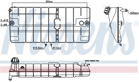 NISSENS 996030 - DEPOSITO EXPANSION DAF LF45