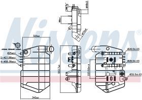 NISSENS 996032 - VASO DE EXPANSION MAN F 2000(94-)V-