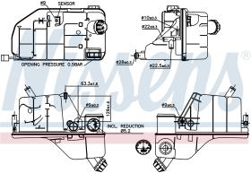 NISSENS 996033 - VASO DE EXPANSION DAF XF 105(05-)46