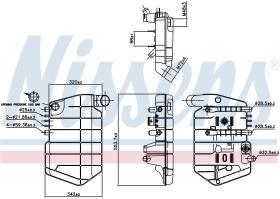NISSENS 996042 - VASO DE EXPANSION IVECO EUROSTAR(93