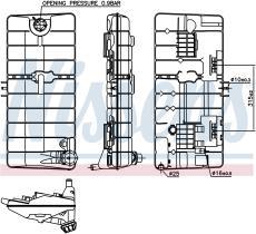 NISSENS 996044 - VASO DE EXPANSION MERCEDES MK(87-)1