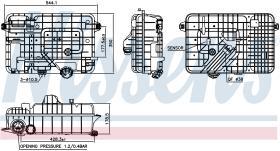 NISSENS 996054 - VASO DE EXPANSION MAN F 90(86-)