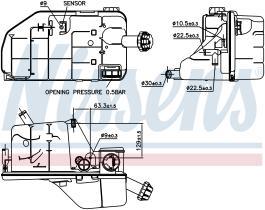 NISSENS 996062 - VASO DE EXPANSION MERCEDES CITARO(9