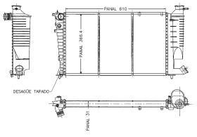 ORDOÑEZ 1020013809 - RAD.CT.XSARA 2,0 I 16V PLANO-63