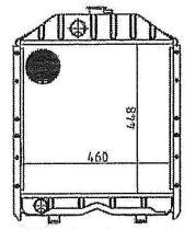 ORDOÑEZ 2067006 - FIAT, RADIADOR