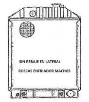 ORDOÑEZ 2067008 - FORD, RADIADOR