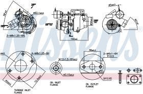 NISSENS 93040 - SAAB 9-3 (YS3D) (98-) 2.0 I 16V TURBO