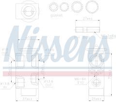 NISSENS 999231 - 5 SERIES (E60)