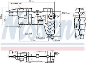 NISSENS 996026 - DEPOSITO EXPANSION DAF LF45