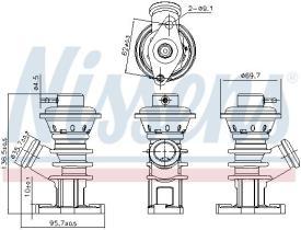 NISSENS 98191 - PEUGEOT 206(2)98-
