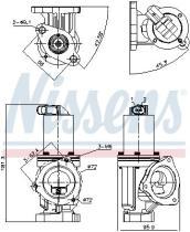 NISSENS 98167 - HYUNDAI SONATA V (NF) (05-) 2.0 CRDI